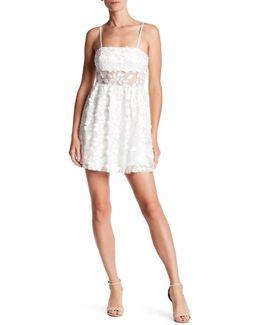 Applique Fit & Flare Mini Dress