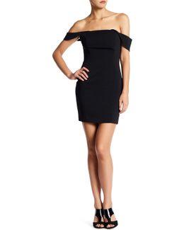 Lang Sleeveless Mini Dress