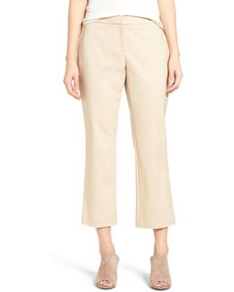 Crop Straight Leg Pants