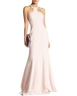 Mayall Solid Halter Dress