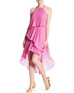 Pleated Multi-layer Dress