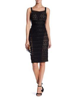 Stretch Lace Cami Dress