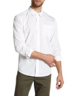 Everett Solid Long Sleeve Classic Fit Shirt