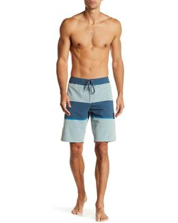 Quatra Stripe Board Short