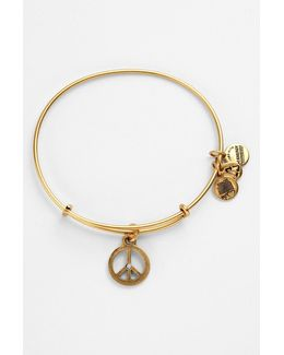 World Peace Expandable Wire Bangle