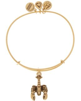 Lobster Expandable Wire Bangle