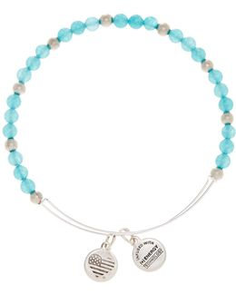 Color Classics Breeze Beaded Extendable Wire Bangle