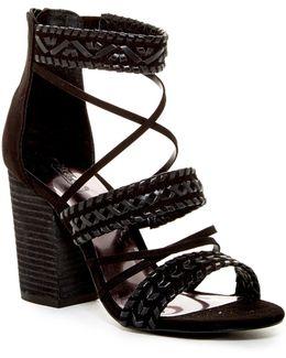 Java Block Heel Sandal