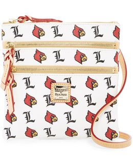Louisville Triple Zip Crossbody