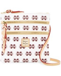 Mississippi State Triple Zip Crossbody