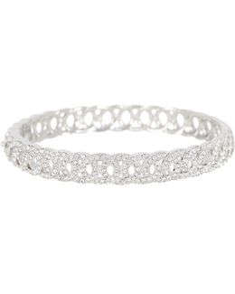 Interwoven Oval Bangle