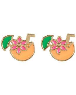 Tropical Drink Earrings