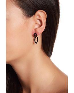 Geometric Front/back Earrings