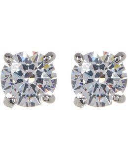 Enamel Bar Stud Earrings