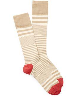 Skater Stripe Crew Socks