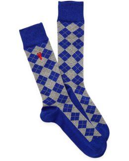 Pinch Argyle Socks