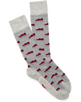 Novelty Print Socks