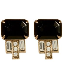 Alex Deco Stud Earrings