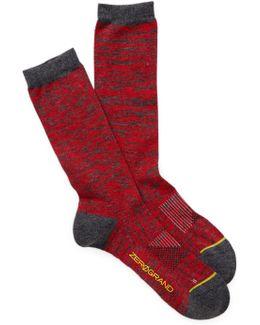 Zerogrand Flat Knit Socks