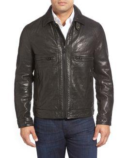 Exeter Genuine Leather Trucker Jacket