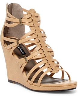 Answer Strappy Wedge Sandal