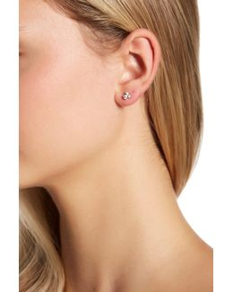 Oasis Crystal & Stone Detail Ear Jacket Earrings