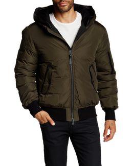 Arto Genuine Leather Down Jacket