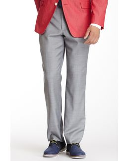 Tyler Gray Sharkskin Wool Dress Pant
