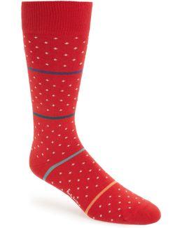Stripe & Dot Socks