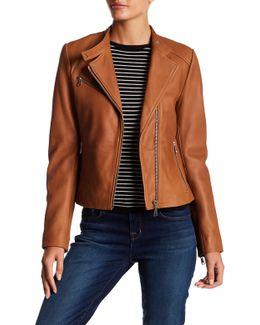 Blake Leather Moto Jacket