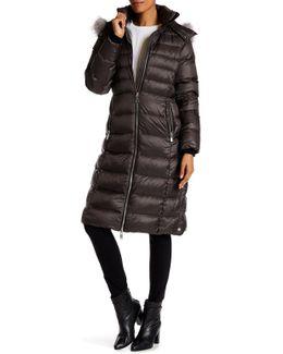 Savannah Genuine Fox Fur Coat