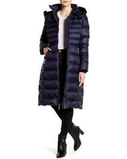 Maxi Down Coat With Fox Fur - 100% Bloomingdale's Exclusive