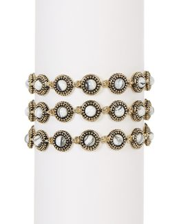 Cuzco Triple Row Bracelet