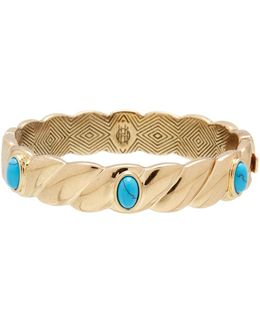 Ribbed Valda Bangle