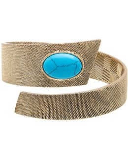 Tanta Crosshatch Bangle