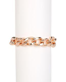 Pegasus Curb Chain Bracelet