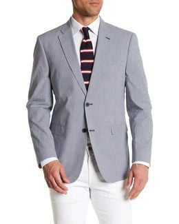 Ethan Checkered Classic Fit Sport Coat