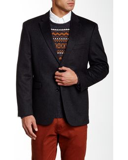 Ethan Two Button Notch Lapel Cashmere Sportcoat