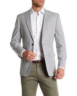 Ethan Pinstripe Classic Fit Sport Coat