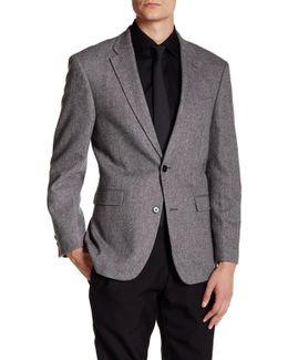 Ethan Grey Two Button Notch Lapel Suit Separates Jacket