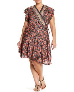 Surplice Dress (plus Size)