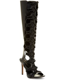 Jocelyn Bungee Caged Heeled Sandal