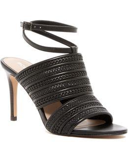 Karli Woven Embossed Mule Sandal