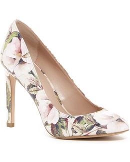 Leigh Watercolor Floral Pump