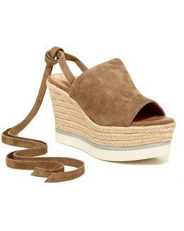 Nico Platform Wedge Espadrille Sandal