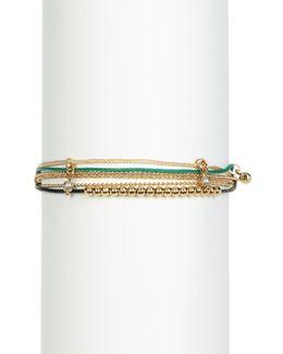 Chloe Multi Strap Bead Bracelet