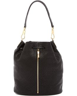 Cynnie Leather Sling Backpack