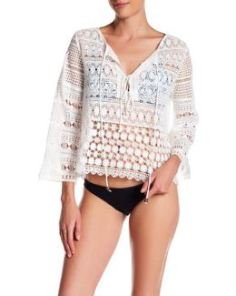 Lace Tunic Cover Up