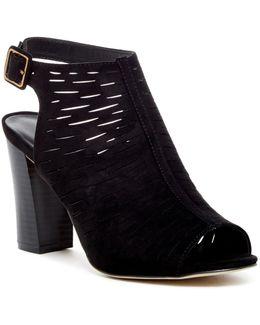 Beckie Open Toe Block Heel Sandal