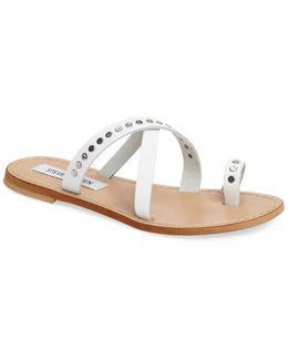 Becky Studded Toe-loop Sandal
